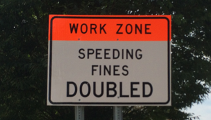 Speeding Zone Fines