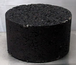 Typical Asphalt Test Core
