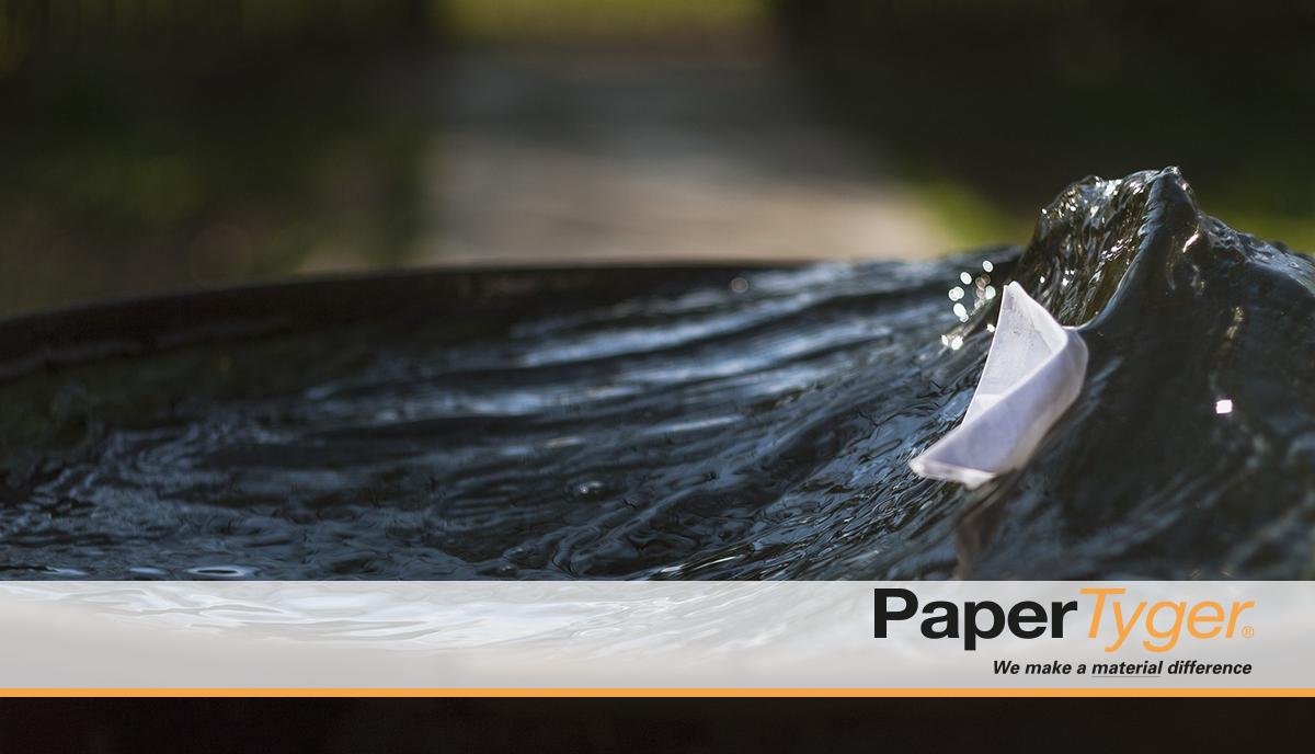 Water Resistant Vs. Waterproof Paper